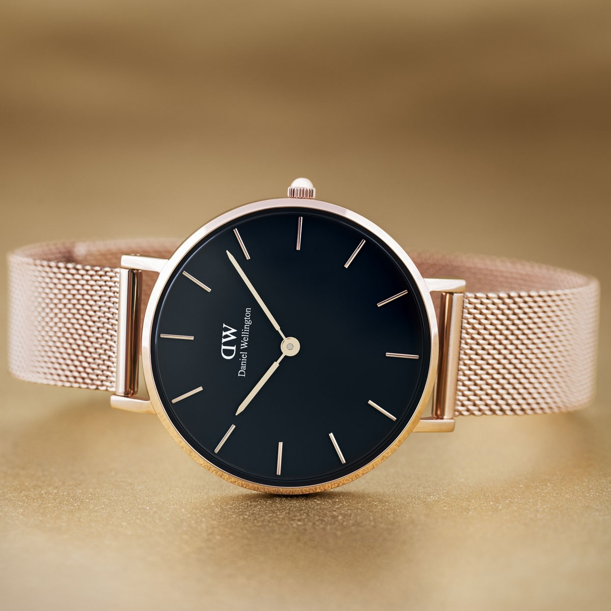 Daniel Wellington CLASSIC PETITE Melrose Black 32 mm ur-38