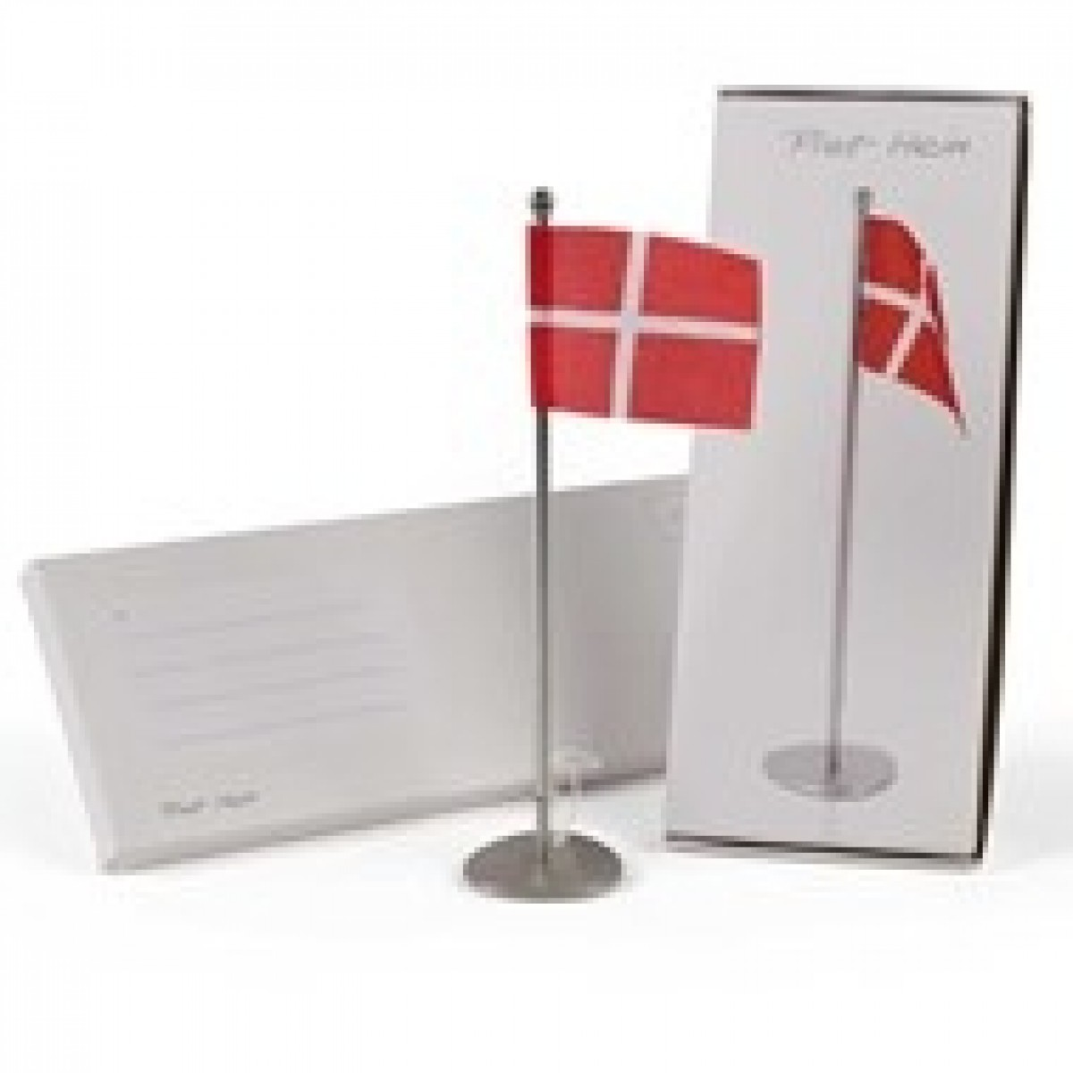 c6e47bc10781 FLAG - Piet Hein Tri-superellipse bordflag - højde 25 cm - post it model