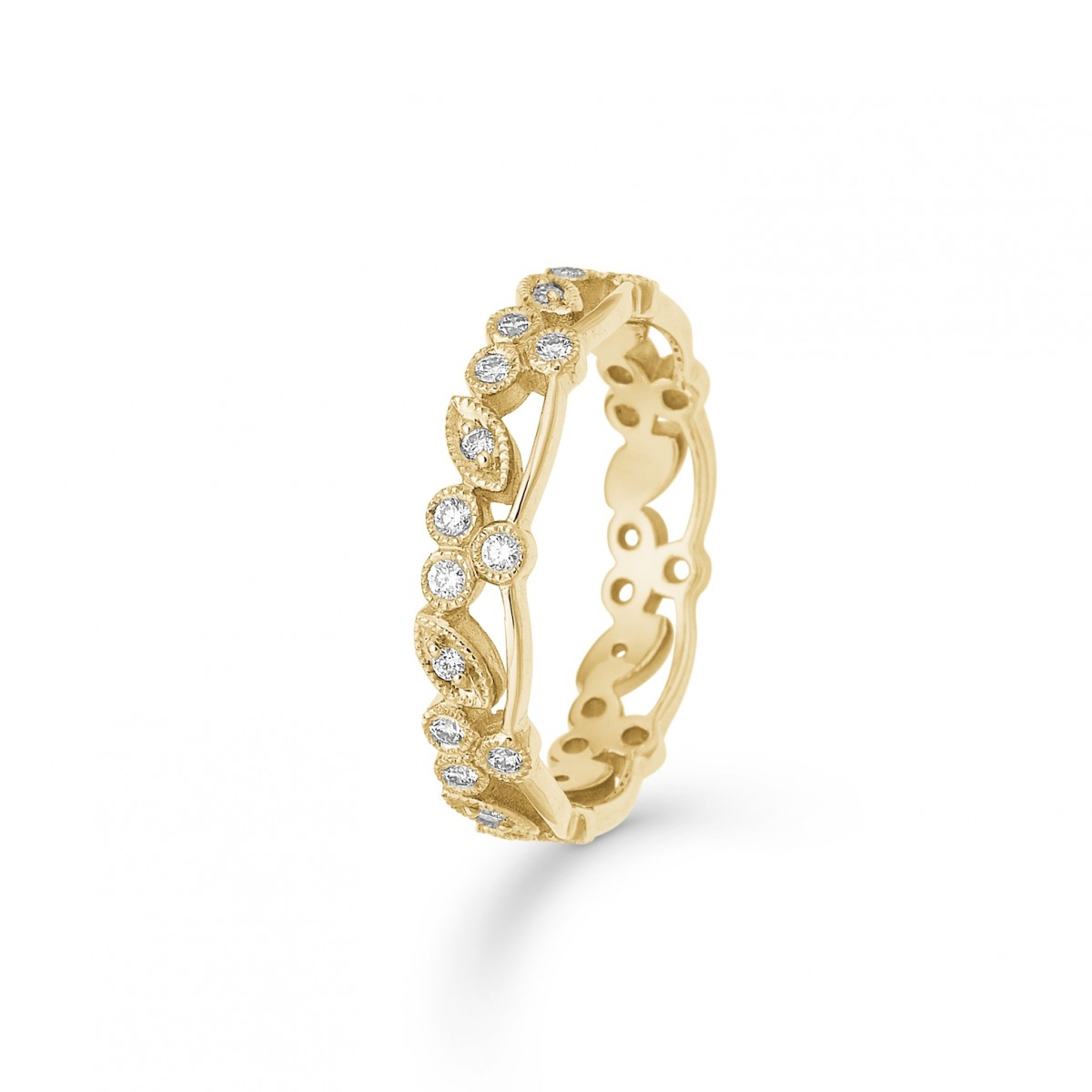 Poetry blomster guld ring