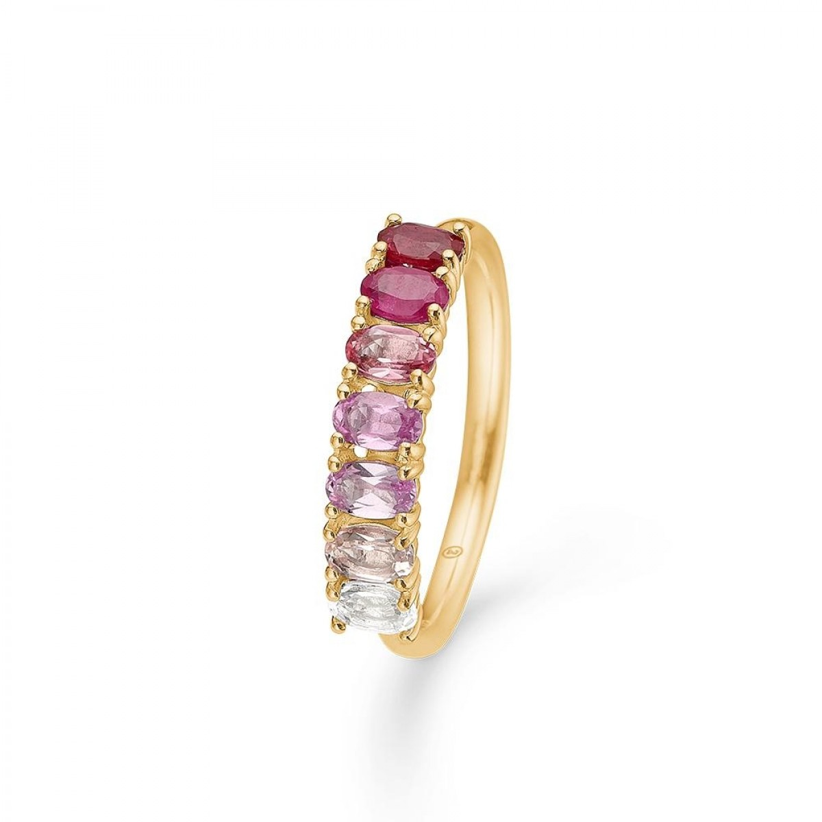 Mads Z POETRY RUBY ring 14 kt