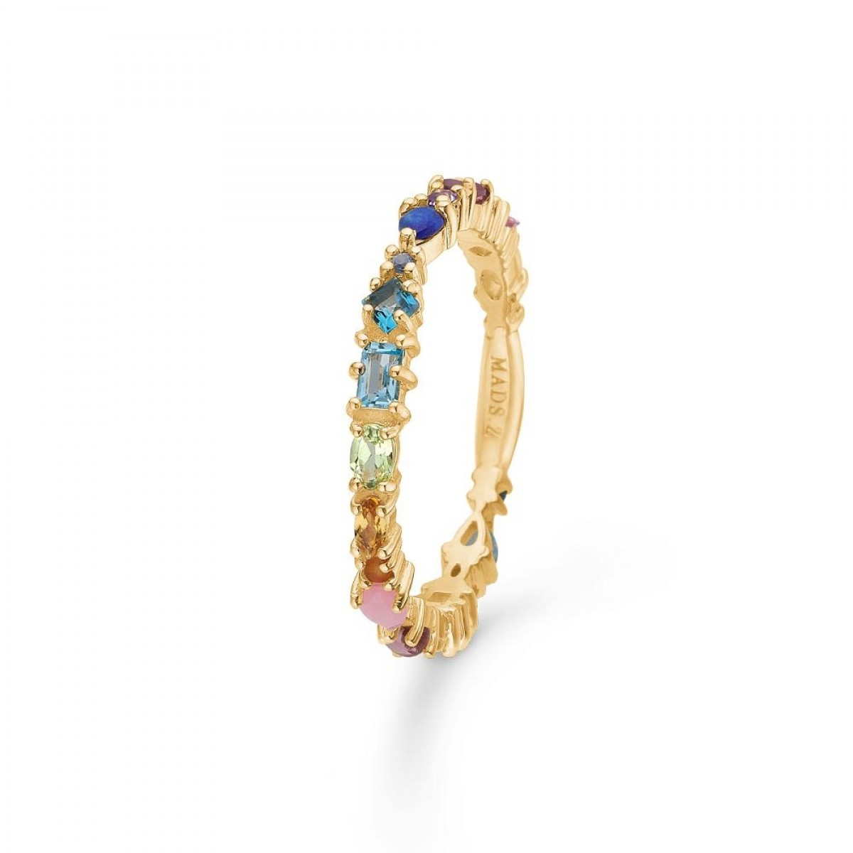 Mads Z CIRCUS ring 14 kt guld