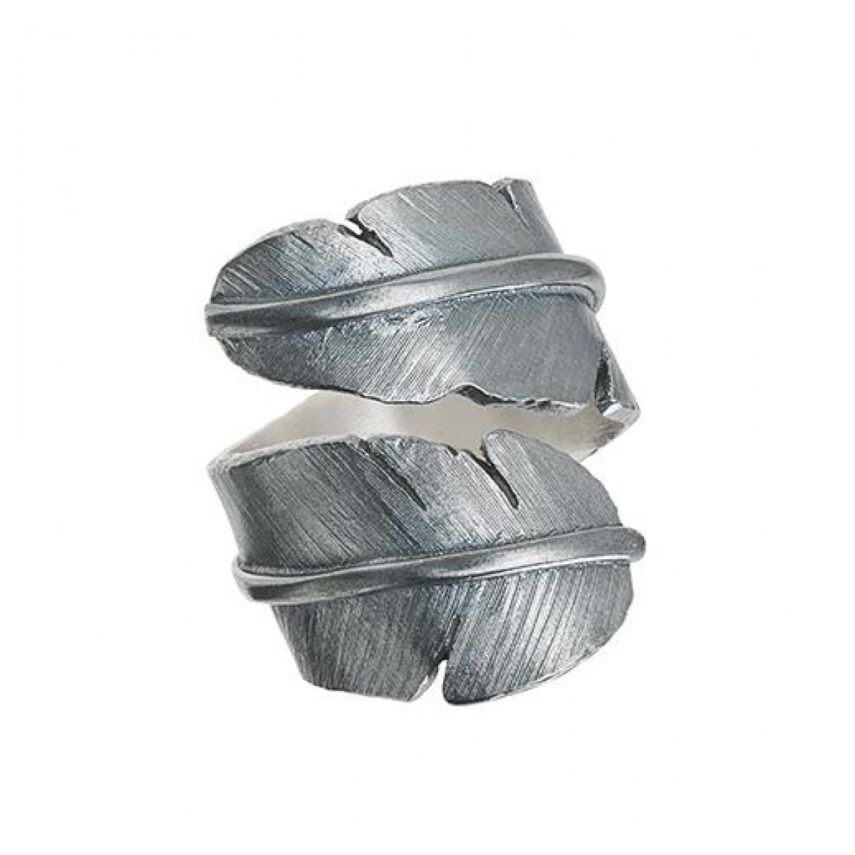 heiring feather ring large