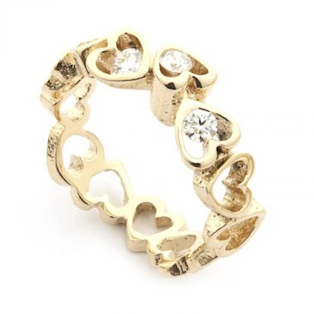 Per Borup OPEN YOUR HEART ring 884RY 14 kt guld-3