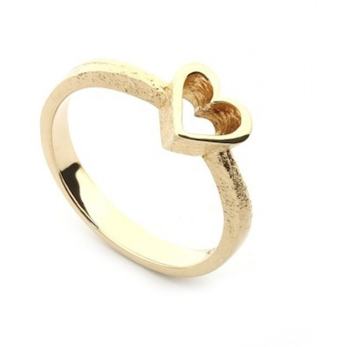 Per Borup OPEN YOUR HEART ring 886R 14 kt guld-3