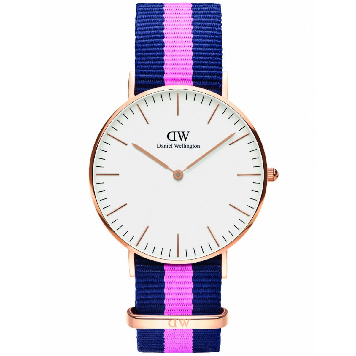 Daniel Wellington CLASSIC 36 mm Winchester Rose ur