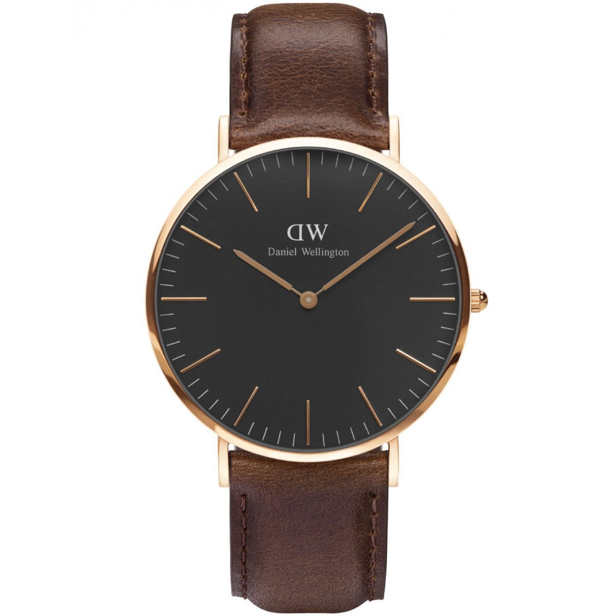 Daniel Wellington CLASSIC BLACK 36 and 40 mm Bristol Rose ur-30