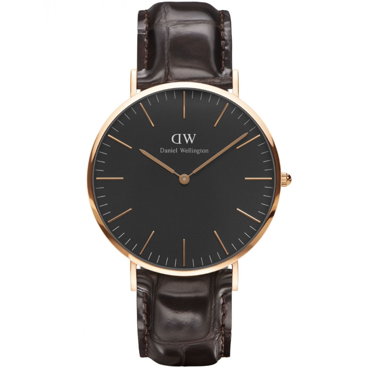 Daniel Wellington CLASSIC BLACK 36 and 40 mm York Rose ur-3