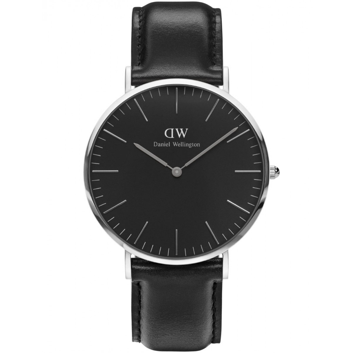 Daniel Wellington CLASSIC BLACK 36 and 40 mm Sheffield Silver ur-30