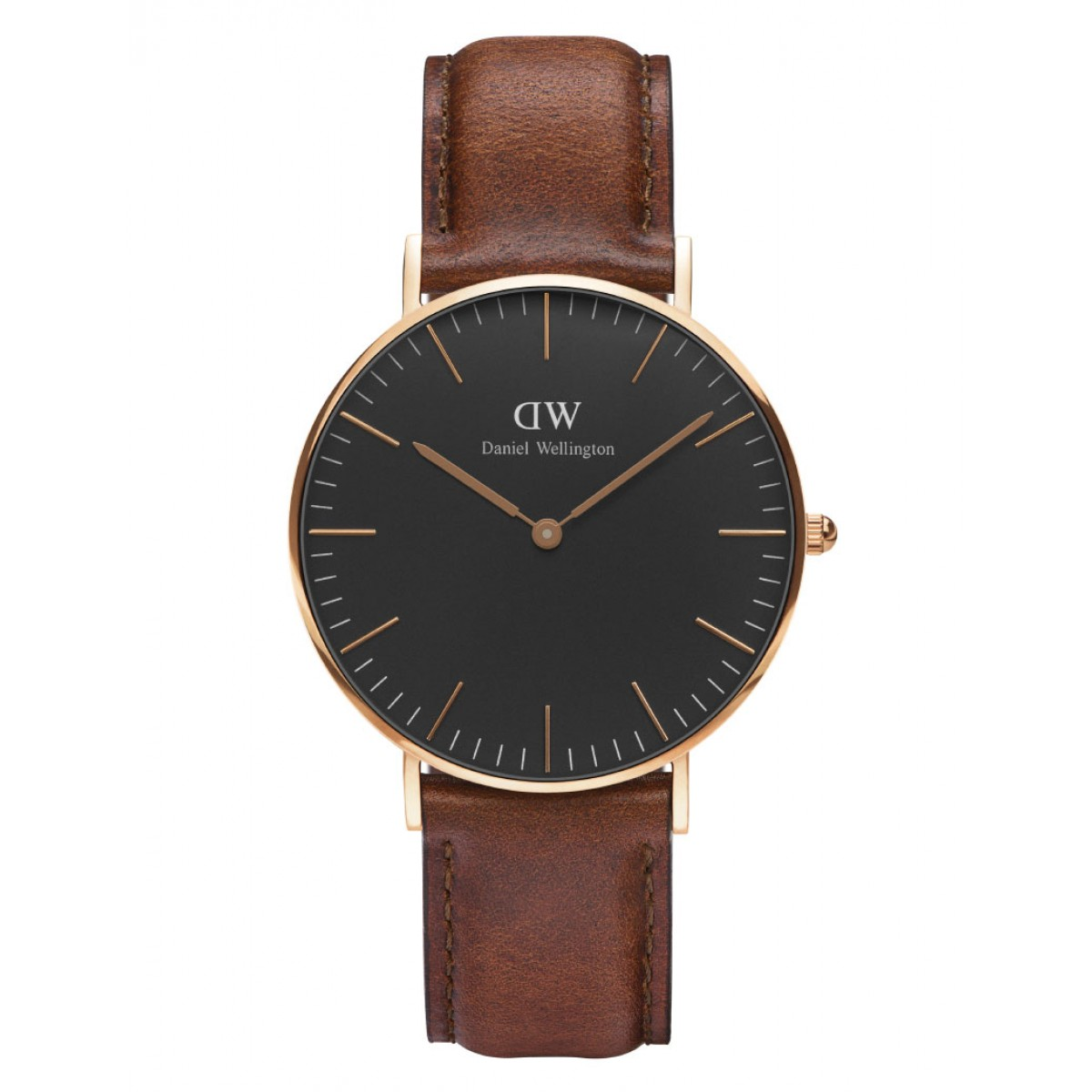 Daniel Wellington CLASSIC BLACK 36 and 40 mm St. Mawes Rose ur-30