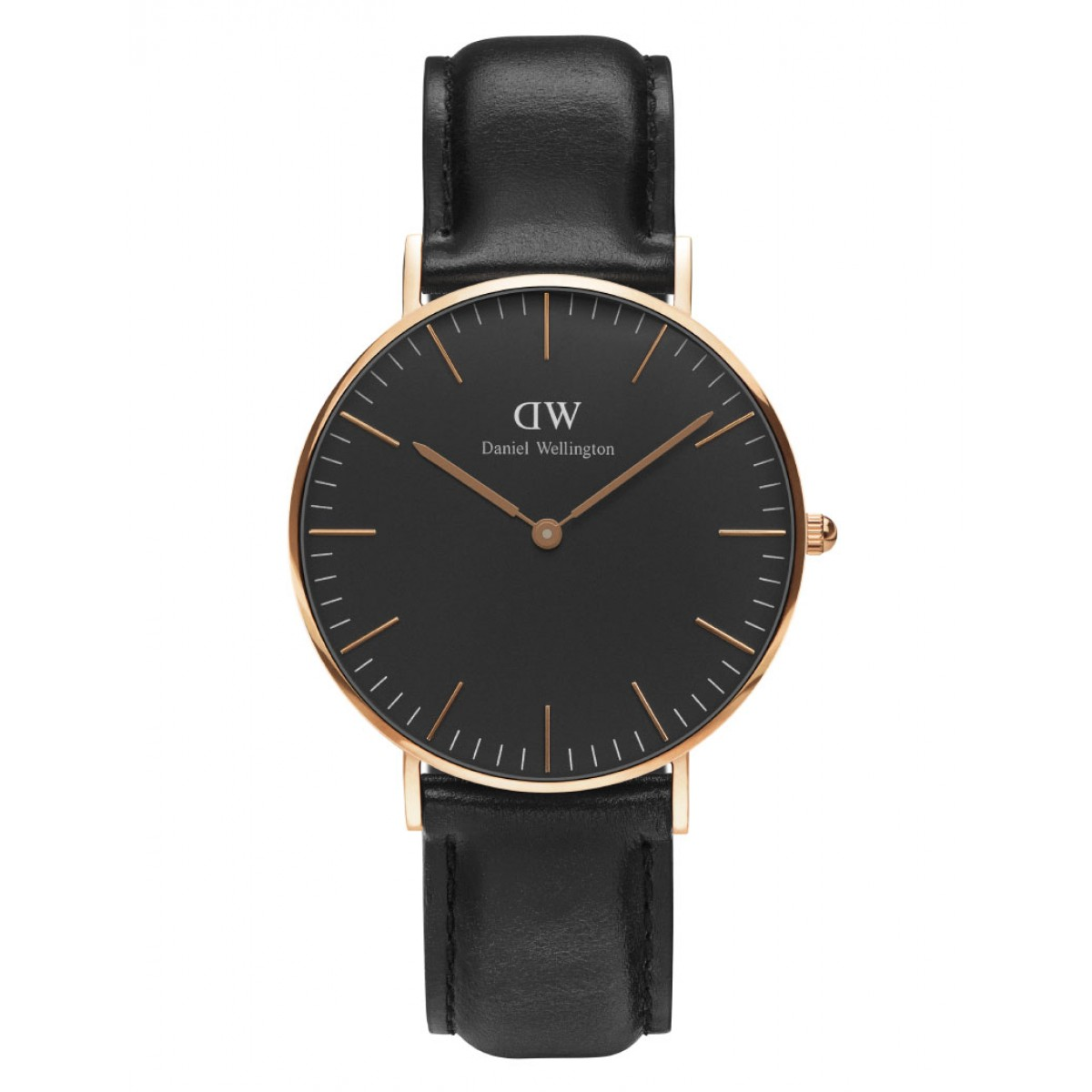 Daniel Wellington CLASSIC BLACK 36 and 40 mm Sheffield Rose ur-30
