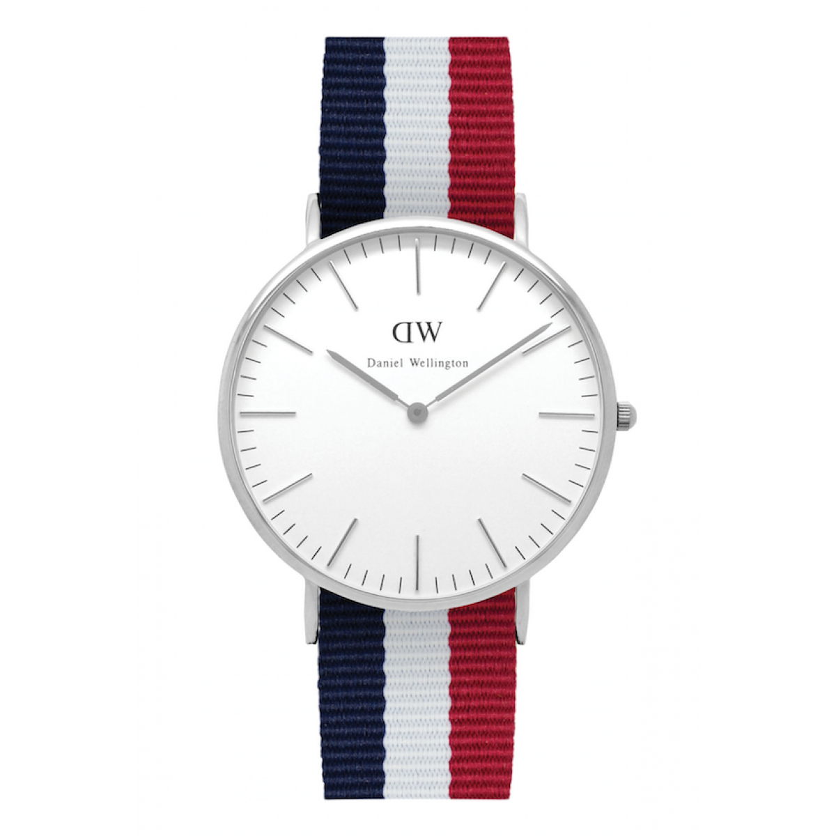 Daniel Wellington CLASSIC 40 mm Cambridge Silver ur-3