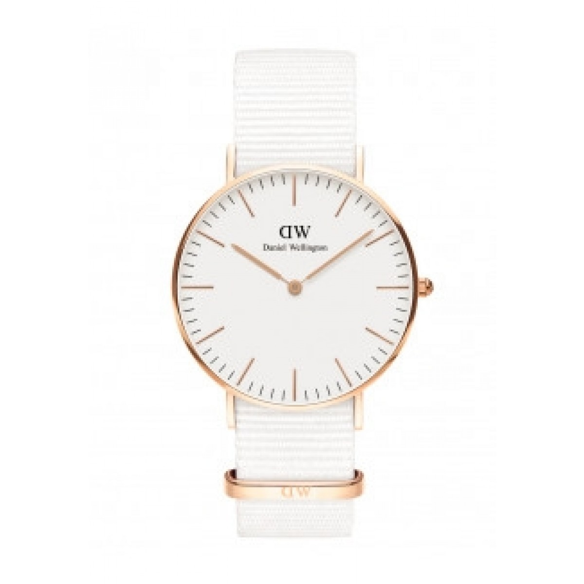 Daniel Wellington CLASSIC WHITE - Dover rose - 36 mm ur