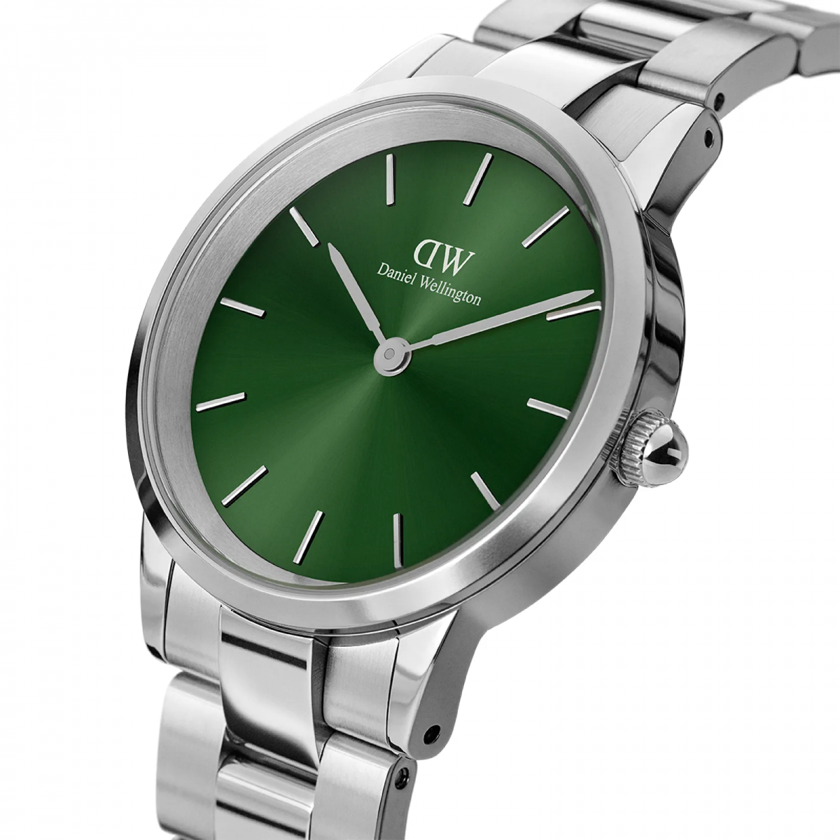 Iconic link emerald 40 mm