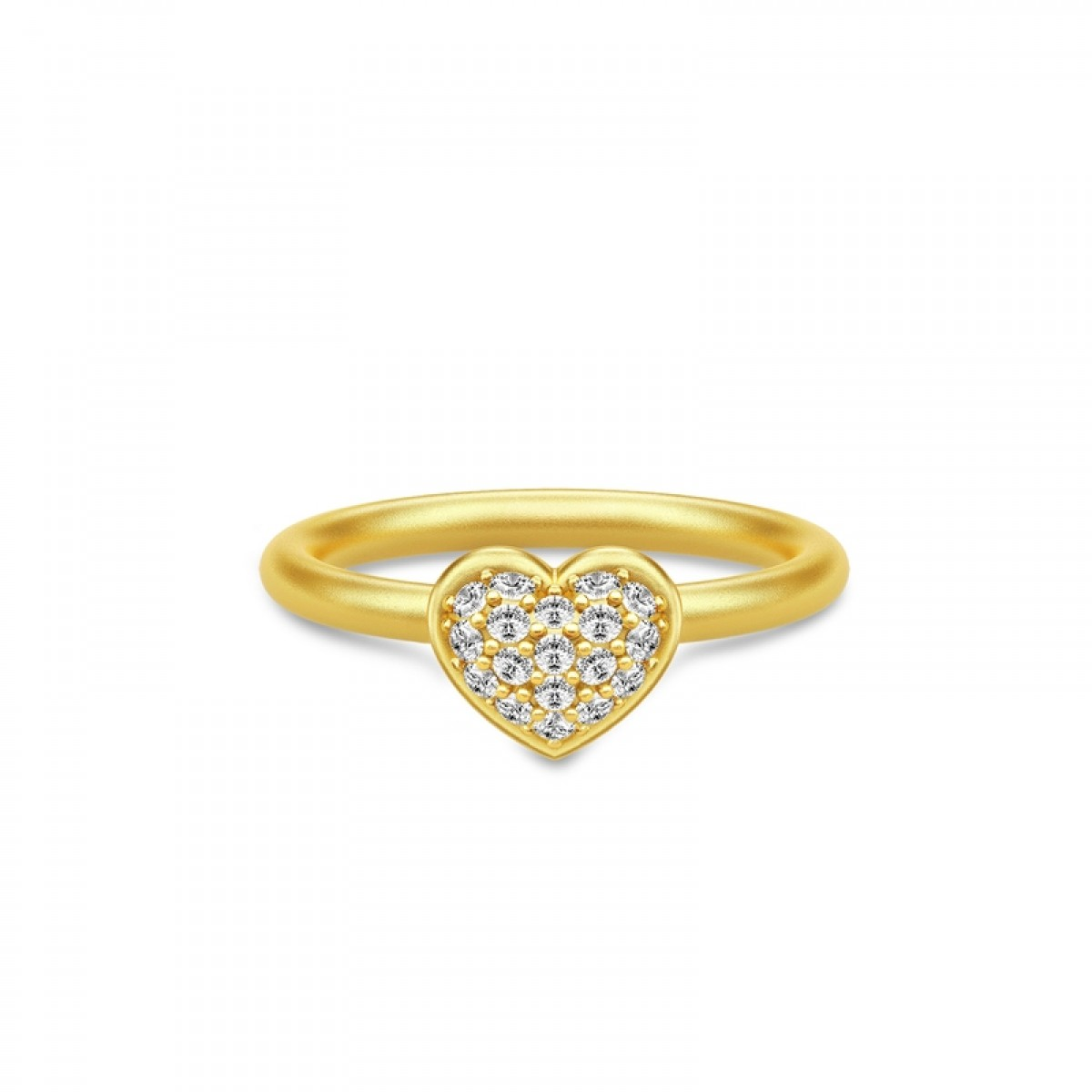 Julie Sandlau PURE HEART ring forgyldt RI187GDCZ48