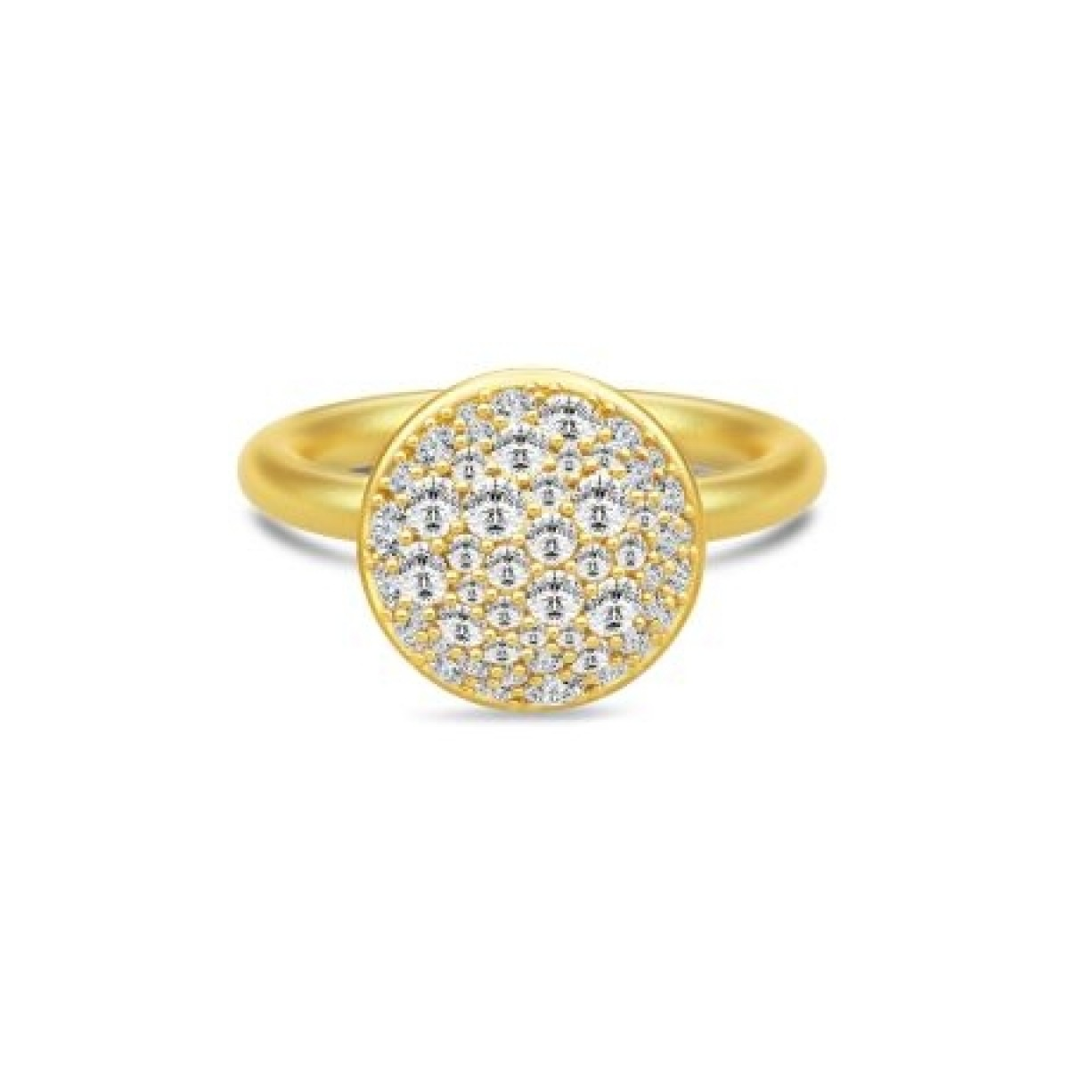 Julie Sandlau MULTIPAVÉ ring forgyldt RI253GDCZ
