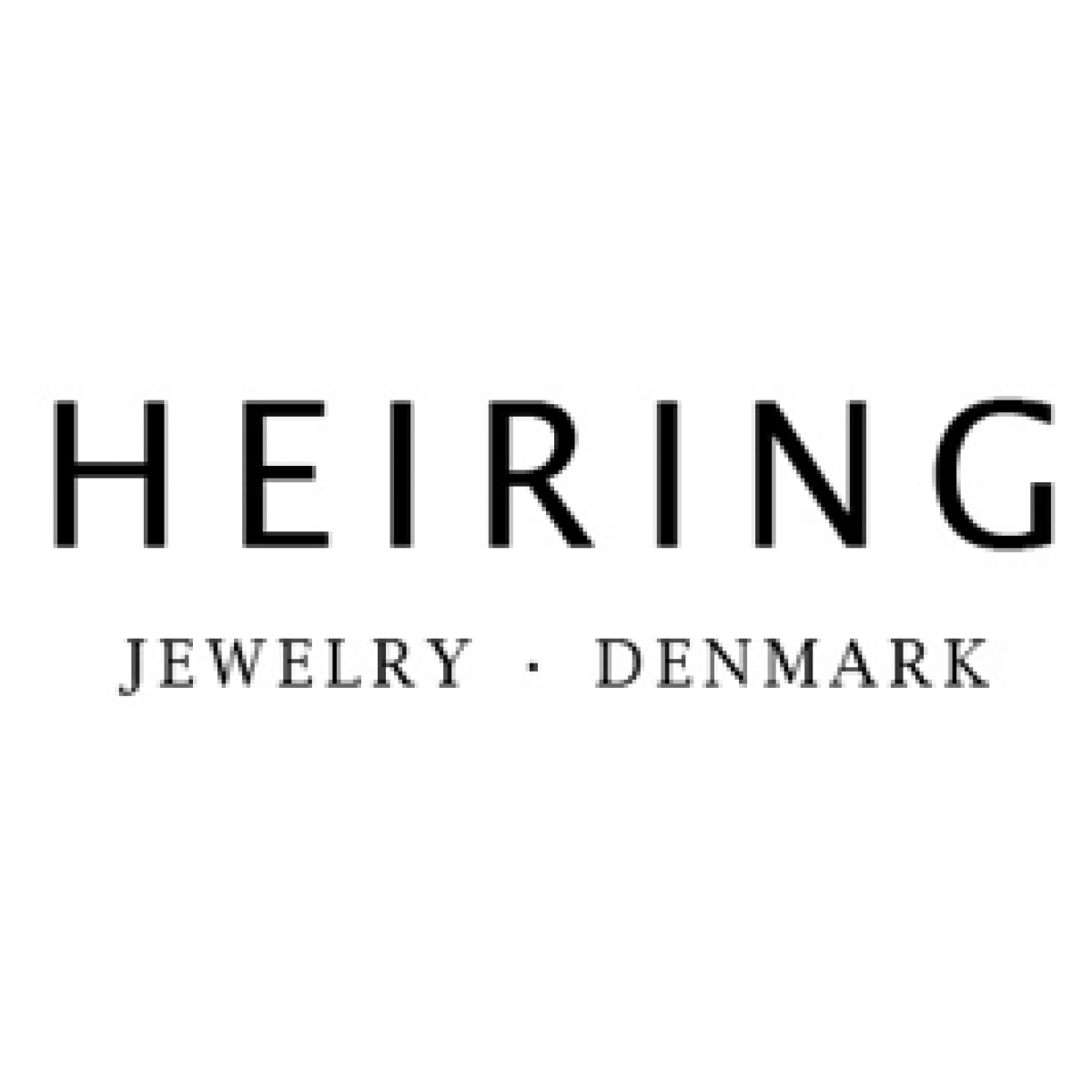 HEIRING Feather Armbånd med kæde sort oxyderet-30