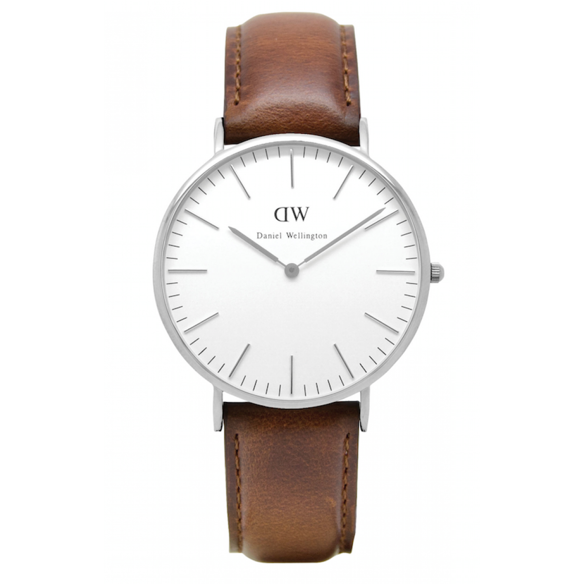 Daniel Wellington CLASSIC 36 and 40 mm St. Mawes Silver ur-30