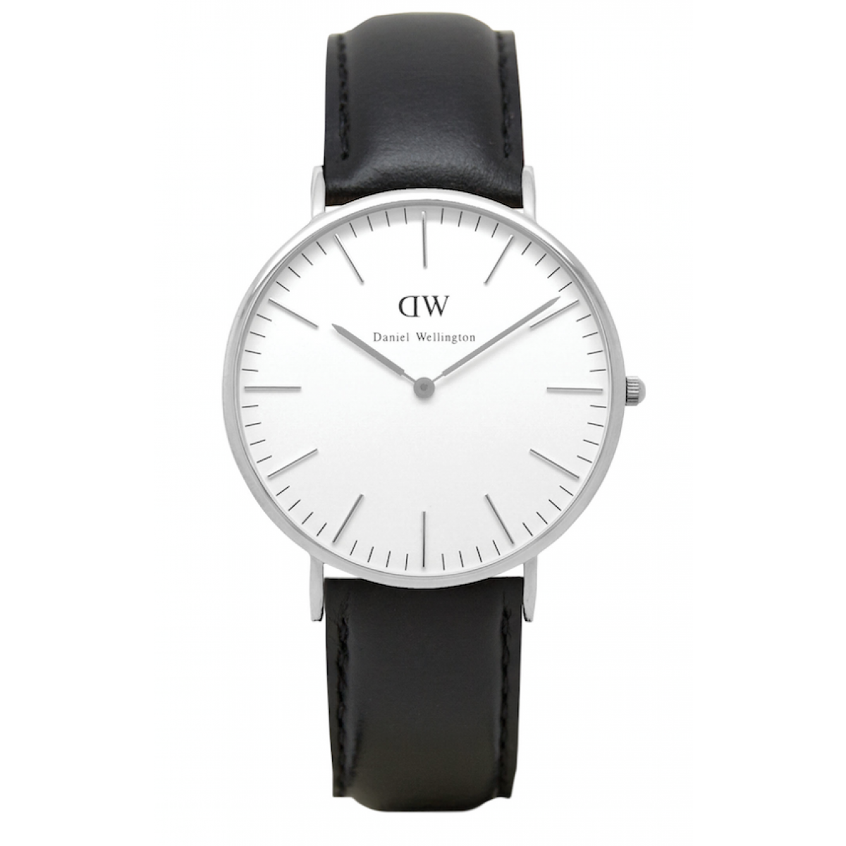Daniel Wellington CLASSIC 36 and 40 mm Sheffield Silver ur-30
