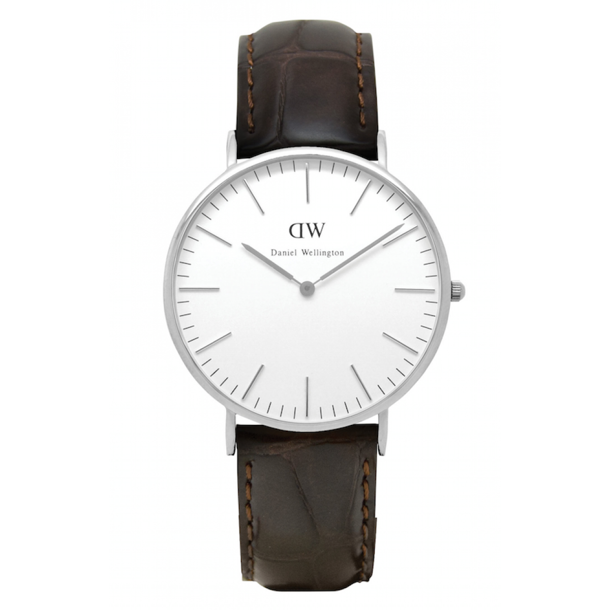 Daniel Wellington CLASSIC 36 and 40 mm York Silver ur-30