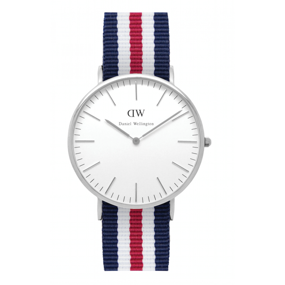 Daniel Wellington CLASSIC 36 and 40 mm Canterbury Silver ur-30