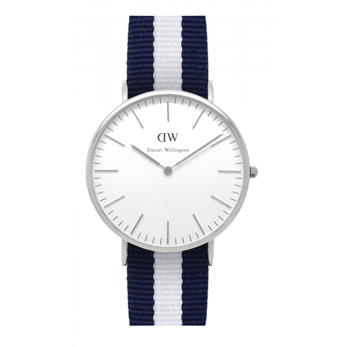 Daniel Wellington CLASSIC 36 and 40 mm Glasgow Silver ur-3