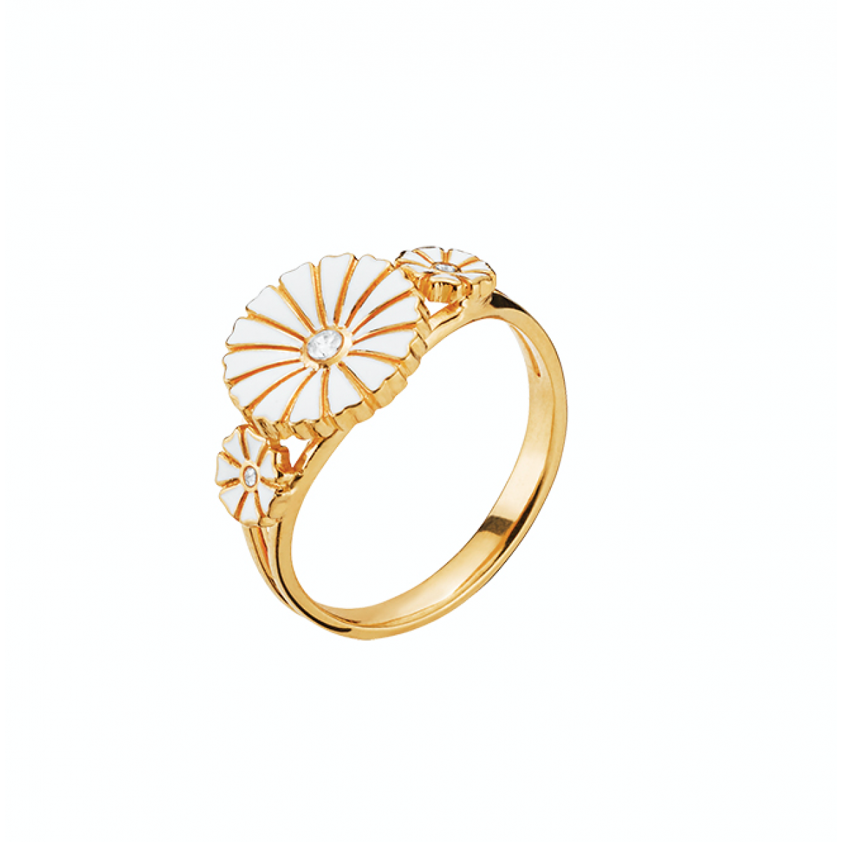 marguerit ring med zirkon