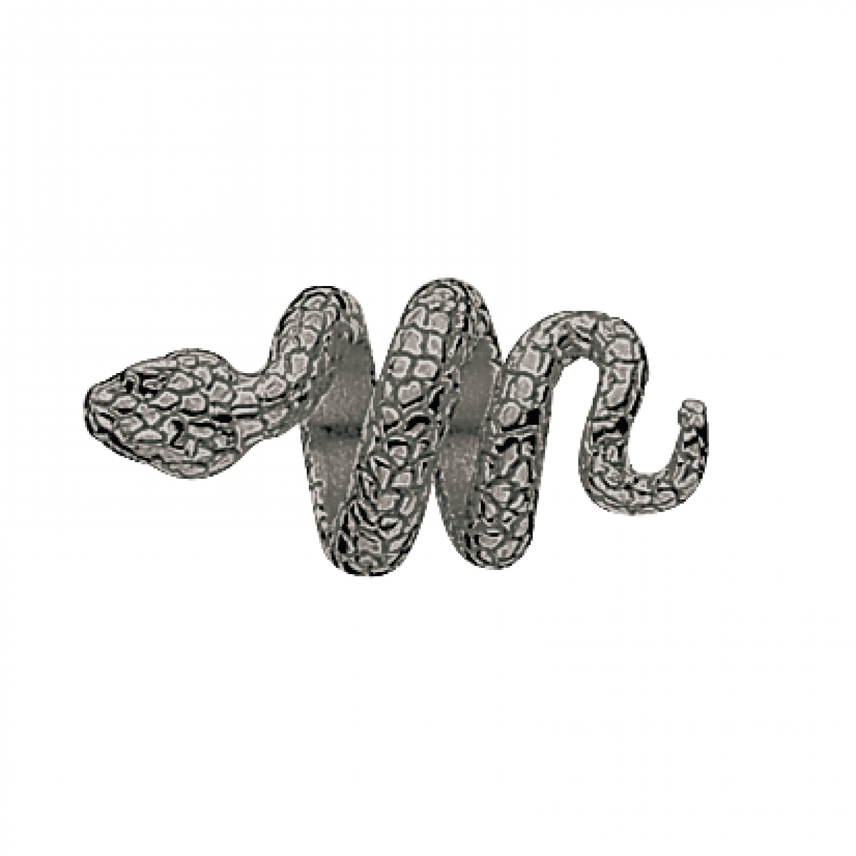 WISH sort rhodineret bead WN-62-3