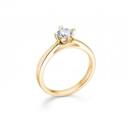 crown ring 0,50 carat