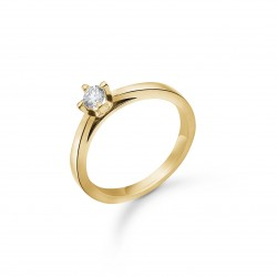 Crown brillant ring