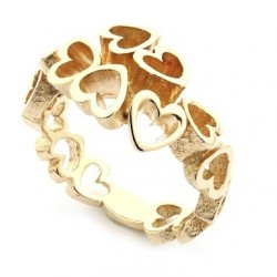 Per Borup OPEN YOUR HEART ring 892R 14 kt guld-20