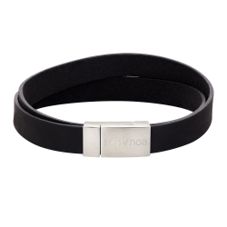 d0f515959363 Son of NOA - læderarmbånd - sort 10 mm