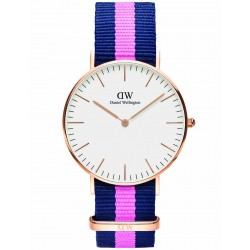 Daniel Wellington CLASSIC 36 mm Winchester Rose ur-20