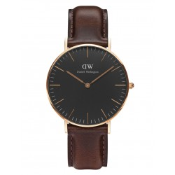 Daniel Wellington CLASSIC BLACK 36 and 40 mm Bristol Rose ur-20