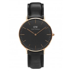 Daniel Wellington CLASSIC BLACK 36 and 40 mm Sheffield Rose ur-20