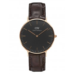 Daniel Wellington CLASSIC BLACK 36 and 40 mm York Rose ur-20