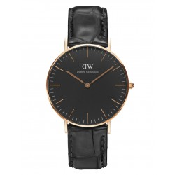 Daniel Wellington CLASSIC BLACK 36 and 40 mm Reading Rose ur-20