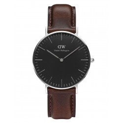 Daniel Wellington CLASSIC BLACK 36 and 40 mm Bristol Silver ur-20