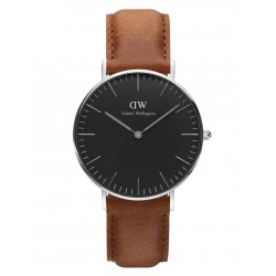 Daniel Wellington CLASSIC BLACK 36 and 40 mm Durham Silver ur-20