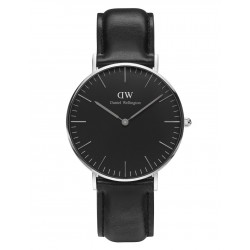Daniel Wellington CLASSIC BLACK 36 and 40 mm Sheffield Silver ur-20