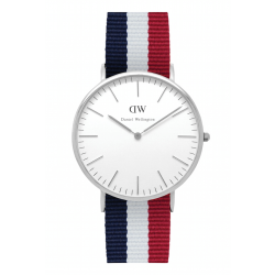 Daniel Wellington CLASSIC 40 mm Cambridge Silver ur-20