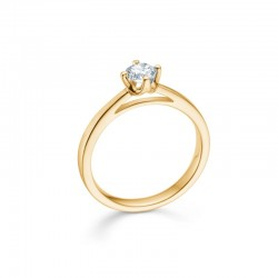 crown ring 0,34 carat