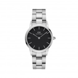DW iconic link med sort skive 28 mm