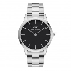 Daniel Wellington iconic link 40 mm sort