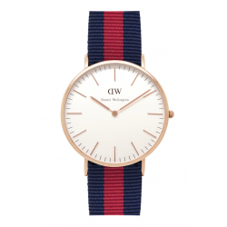 Daniel Wellington CLASSIC 36 and 40 mm Oxford Rose ur-20