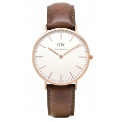 Daniel Wellington CLASSIC 36 and 40 mm St. Mawes Rose ur-20