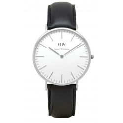 Daniel Wellington CLASSIC 36 and 40 mm Sheffield Silver ur-20