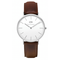 Daniel Wellington CLASSIC 36 and 40 mm Bristol Silver ur-20