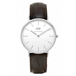 Daniel Wellington CLASSIC 36 and 40 mm York Silver ur-20