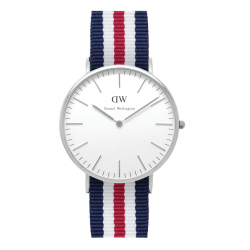 Daniel Wellington CLASSIC 36 and 40 mm Canterbury Silver ur-20