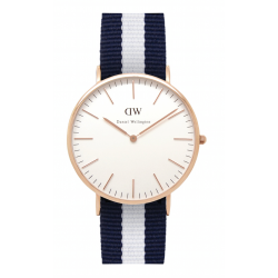 Daniel Wellington CLASSIC 36 and 40 mm Glasgow Rose ur-20